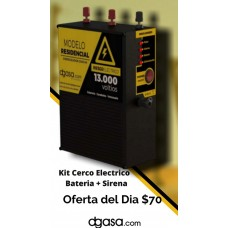 Energizador Cerco Electrico 2000 Mts 12.000V